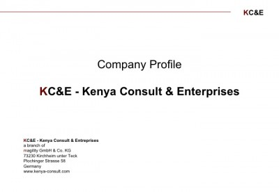 KC&E - Kenya Consult and Enterprises