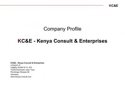 KC&E - Kenya Consult and Enterprises
