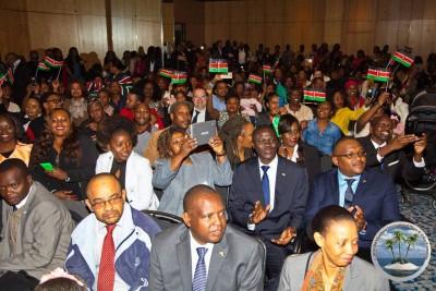Gäste_Kenyan_diaspora_in_deutschland