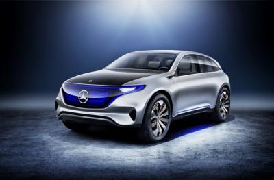 Mercedes-Benz EQ beim Autosalon 2016. Copyright: Daimler AG