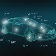 Vernetzung von Echtzeitdaten von Autos. Copyright: HERE