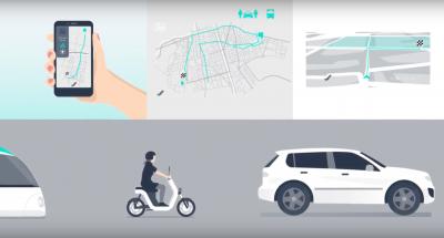 Die Zukunft intelligenter Karten: Echtzeitdaten und Vernetzung. Copyright: HERE