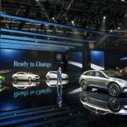 Mercedes-Benz beim Autosalon 2016. Copyright: Daimler AG