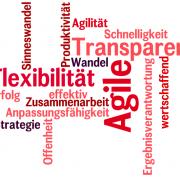 Managementstrategien: Studie zeigt dass agiles Arbeiten erfolgreich macht.