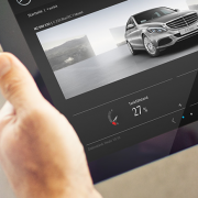 Vernetztes Fahren und Datenschutz. Die Automobilindustrie arbeitet an der Sicherheit. Foto: Screenshot.