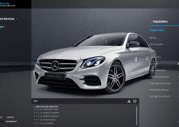 Daimler stellt Entwicklern Connected Vehicle API zur Verfügung. Bild: Screenshot Mercedes