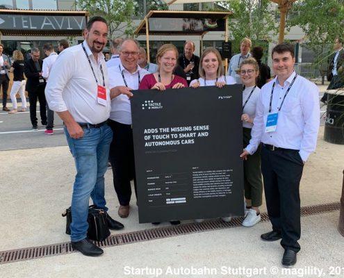 Startup-Autobahn in Stuttgart © magility, 2019