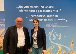 agritechnica 2019 Dr. Michael Mueller und Dr. Christa Hoffmann